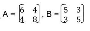 contoh soal pengurangan matriks