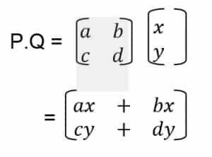 Cara Perkalian matriks