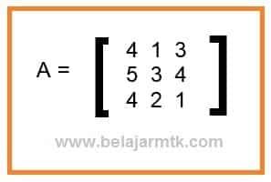 Soal Determinan Matriks ordo 3x3