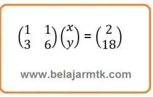 Ubah Ke Bentuk Matriks